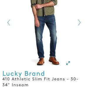 Lucky Brank 410 Athletic slim fit jeans